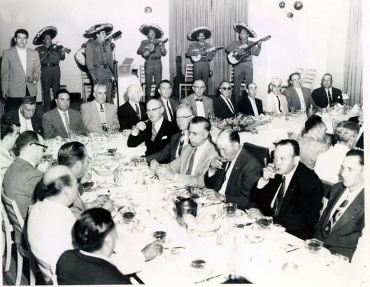 Avalos 25 Yr Club Dinner April 1960