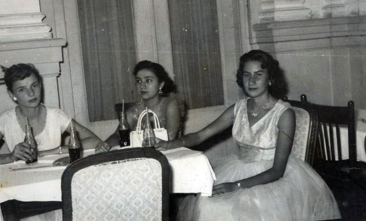 Left to right: Flossy Wilson, Unknown, Martha Santa Cruz