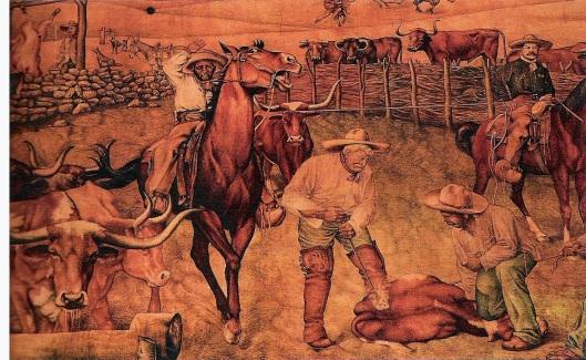 La Ganadería by Leandro Carreón